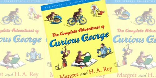 The Complete Adventures of Curious George eBook Only $1.99 at Amazon (Regularly $23)