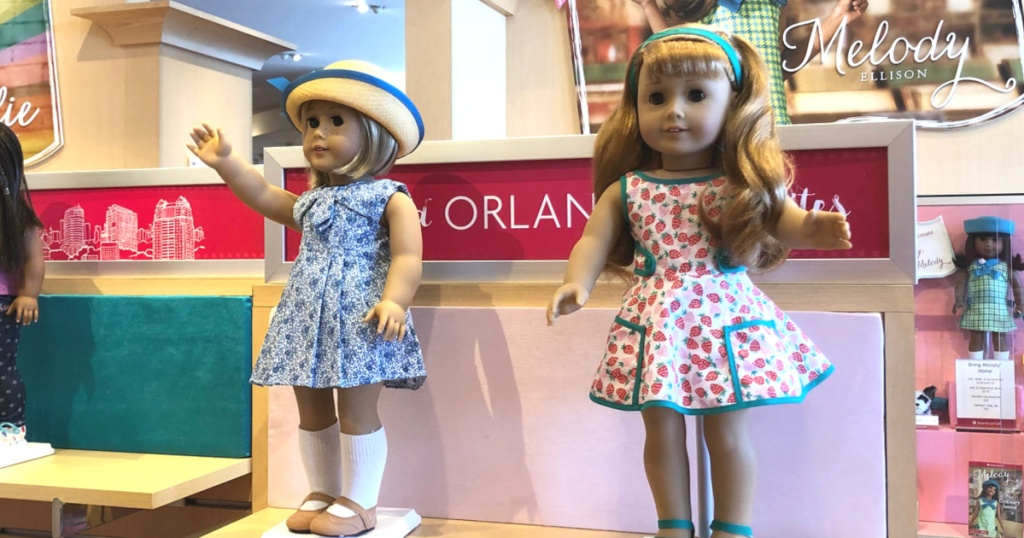 American Girl Doll Display