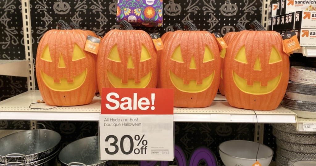 30% off Halloween Decor at Target