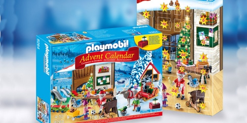 PLAYMOBIL Santa's Workshop Advent Calendar Only $13.49 (Regularly $25)