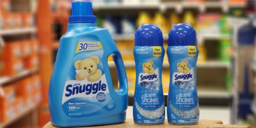 $5.50 Worth of New Snuggle Product Coupons + Target Deal Idea