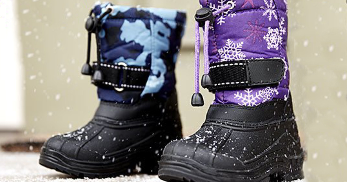 Kids Snow Boots at Zulily