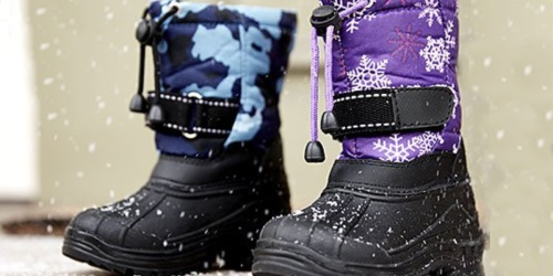 Kids Snow Boots Just $7.99 on Zulily (Regularly $25+)