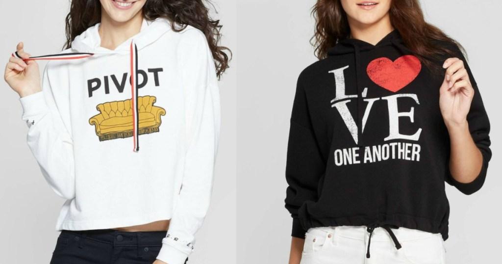 Women's cropped sweatshirts at Target