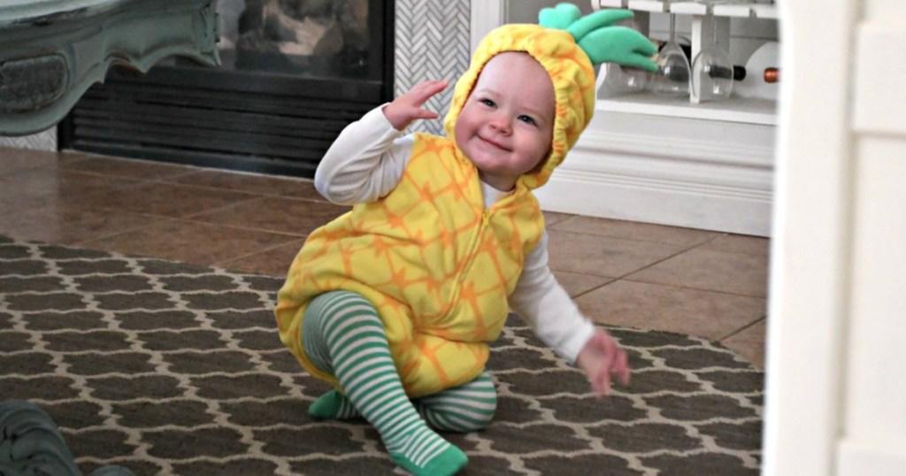 Carters baby Pineapple Halloween Costume