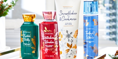 Bath & Body Works Body Care Only $5.95 (Regularly Up to $20) + Free Shipping Offer