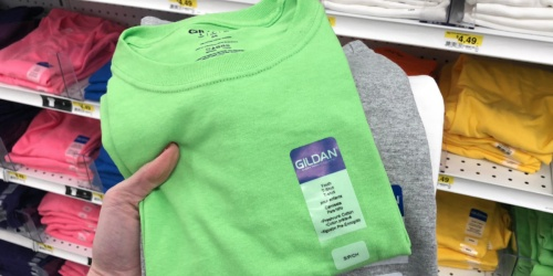 Gildan T-Shirts for Adult, Youth & Toddlers Only $2 at Joann Fabric