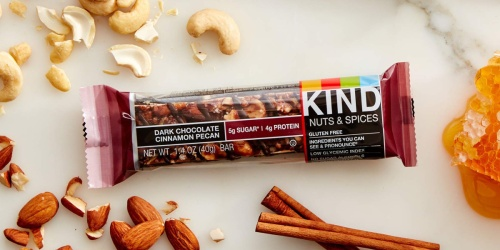 KIND Dark Chocolate Cinnamon & Pecan Bars 12-Count Only $8.70 Shipped | Amazon Prime