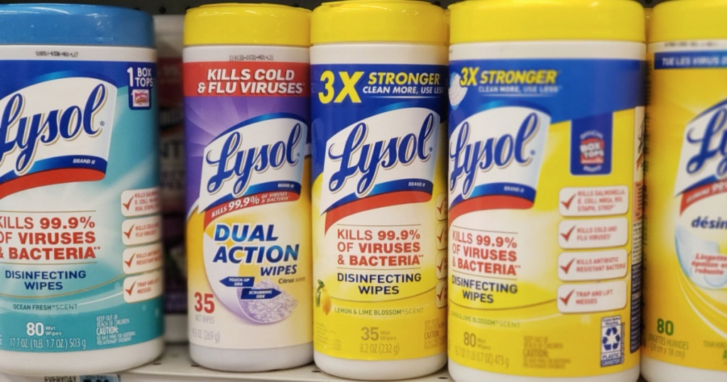 Free Lysol Wipes at Rite aid