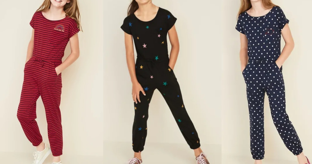 Old navy girls jumpsuits rompers