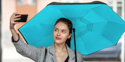 Reverse Fold Inverted Umbrellas as Low as $19 at Amazon | Choose from Eleven Colors