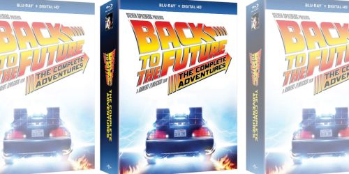 Back to the Future: The Complete Adventures Blu-ray + Digital HD Only $21.99 at Amazon (Regularly $80)