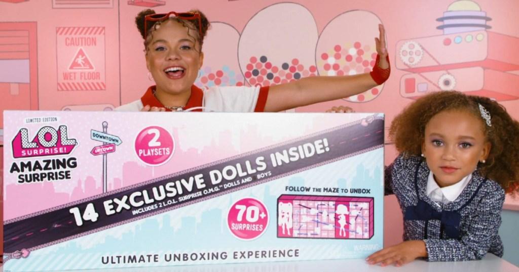 L.O.L. Surprise! Amazing Surprise with 14 Dolls & 70+ Surprise