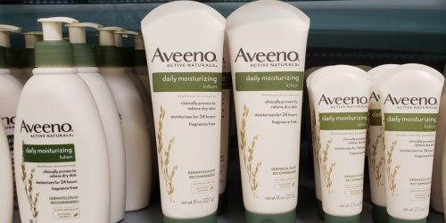$15 Worth of New & High Value Aveeno Coupons