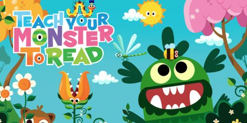Free Teach Your Monster How to Read App for iOS & Android Users (Regularly $4.99)