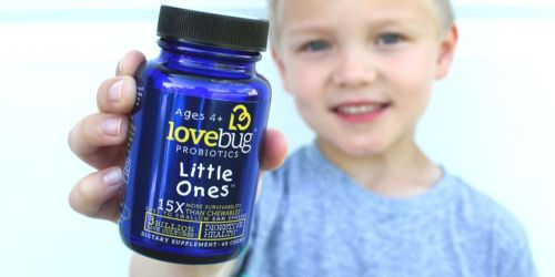 LoveBug Probiotics for Kids Only $11 Shipped on Amazon | Non-GMO & Allergen-Free