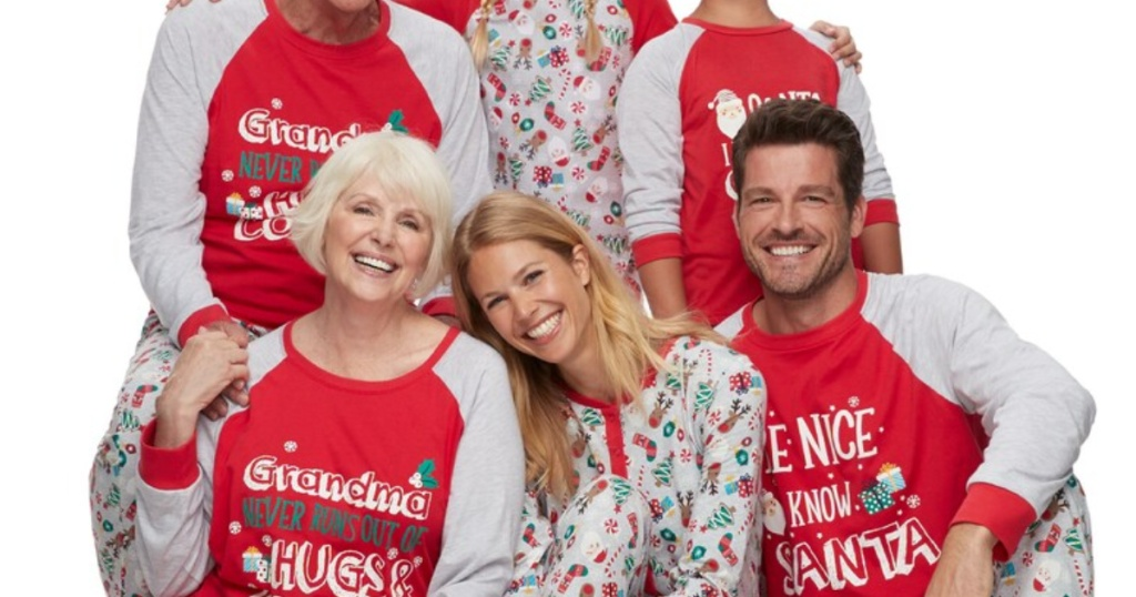 Matching Family Pajamas at Kohl's