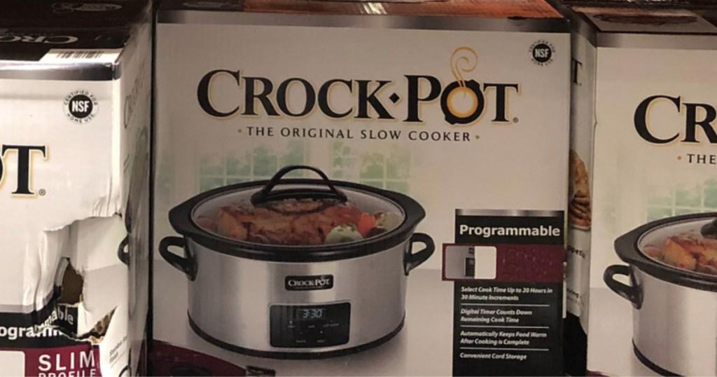 Crock-pot 7-quart slow cooker costo