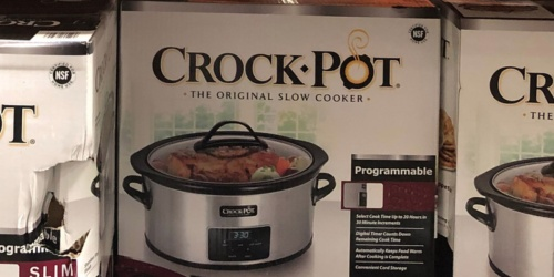 Crock-Pot 7-Quart Slow Cooker w/ Locking Lid & Carrying Bag Only $29.99 at Costco