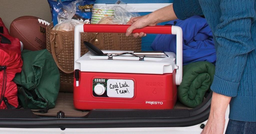 Presto 06011 Nomad 6-quart Traveling Slow Cooker