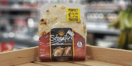 50% Off Stonefire Authentic Flat Breads at Target