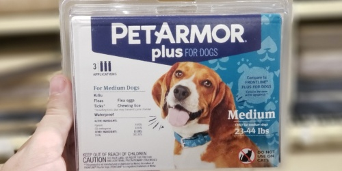 40% Off PetArmor and Frontline Flea & Tick Prevention for Pets at Amazon
