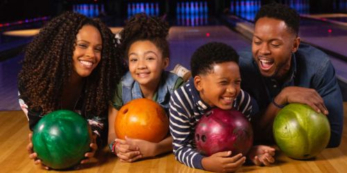 Up to 70% Off AMF Family Bowling Packages | Includes Shoe Rentals