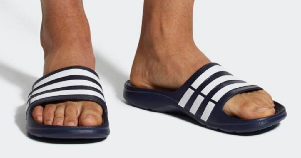 men's adidas duramo slides