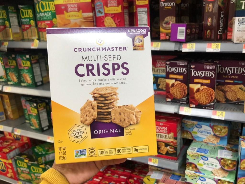 Crunchmaster Crackers at Walmart