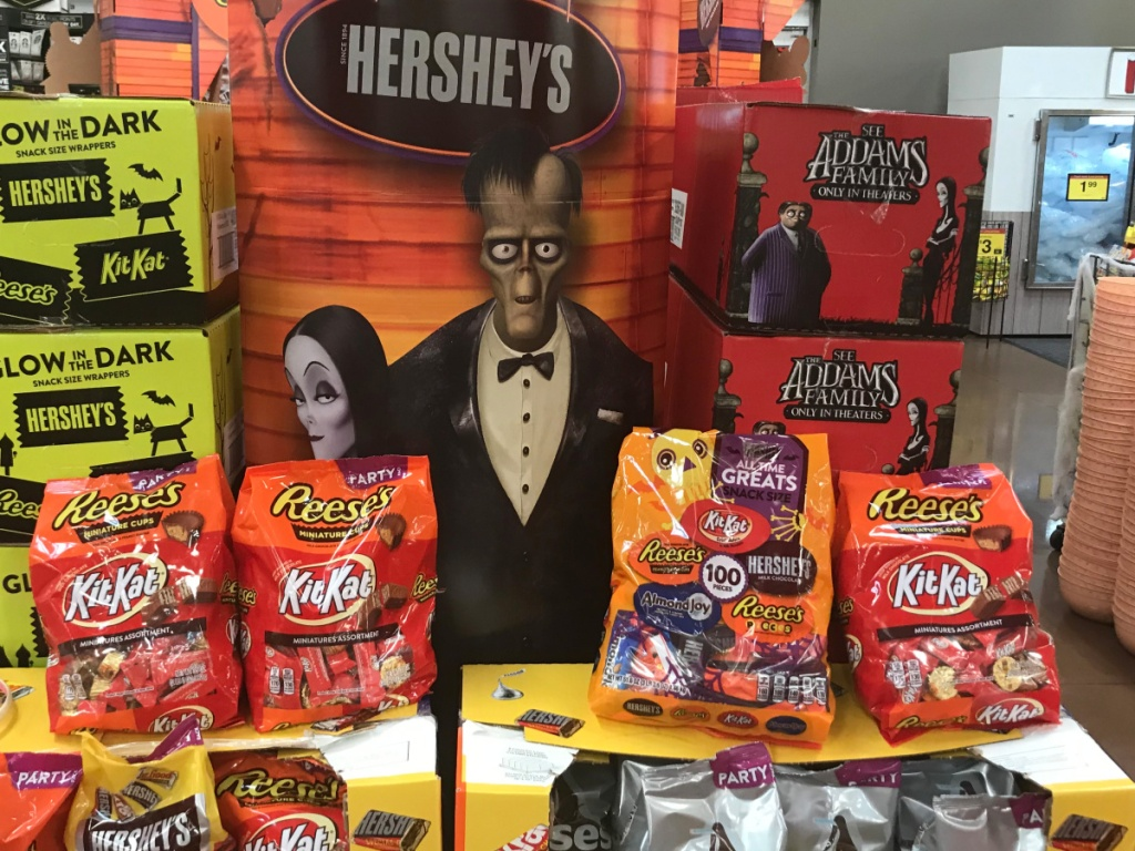 Halloween Candy Display at Kroger