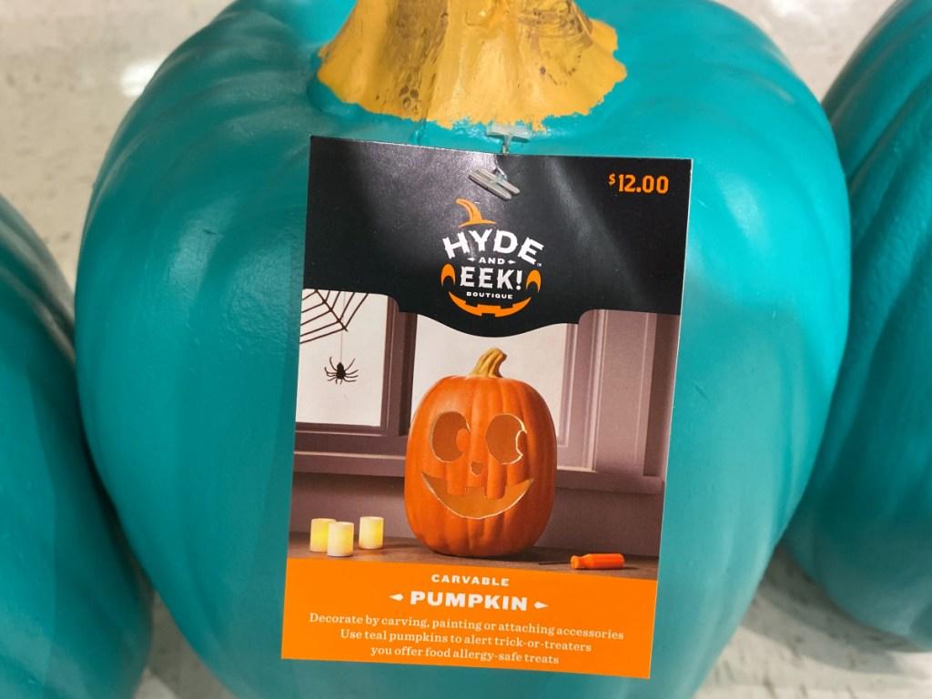 Teal Pumpkin at Target