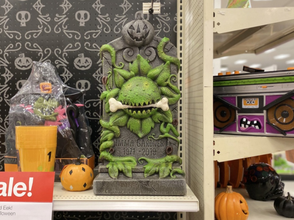Halloween Tombstone at Target