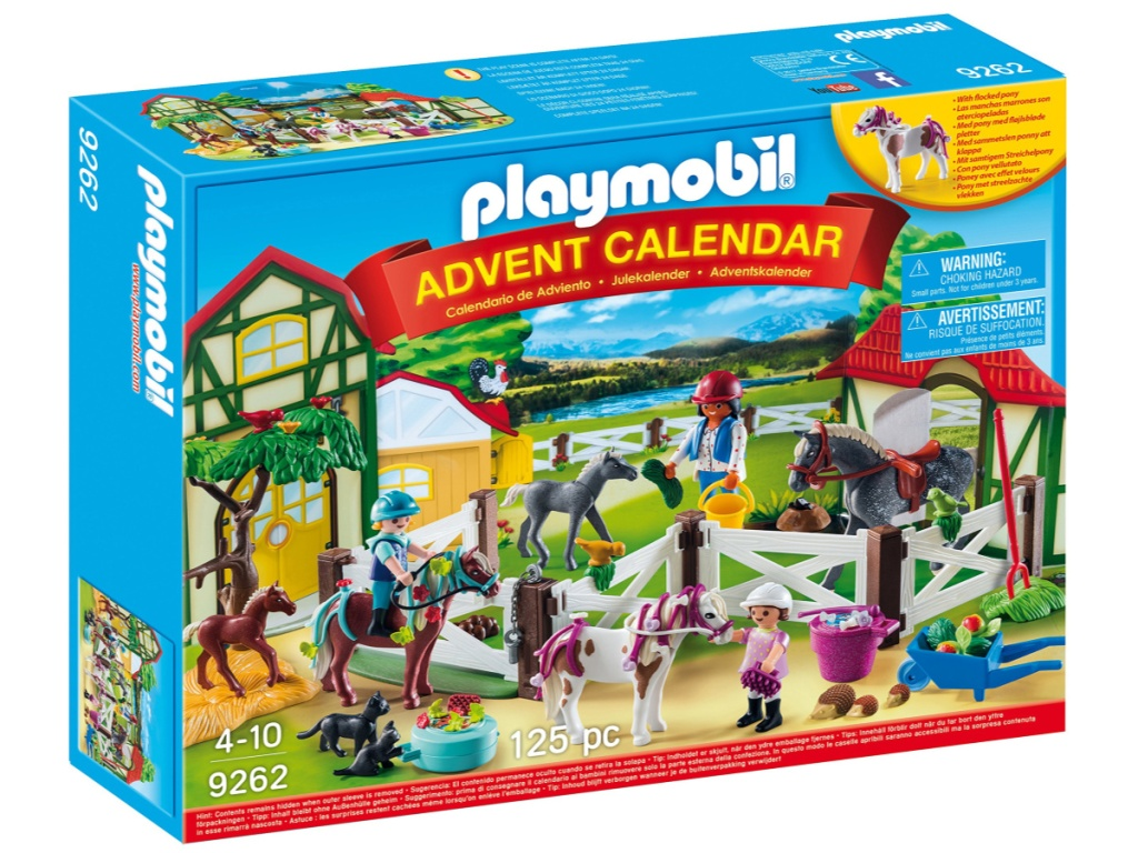 playmobil horse farm advent calendar