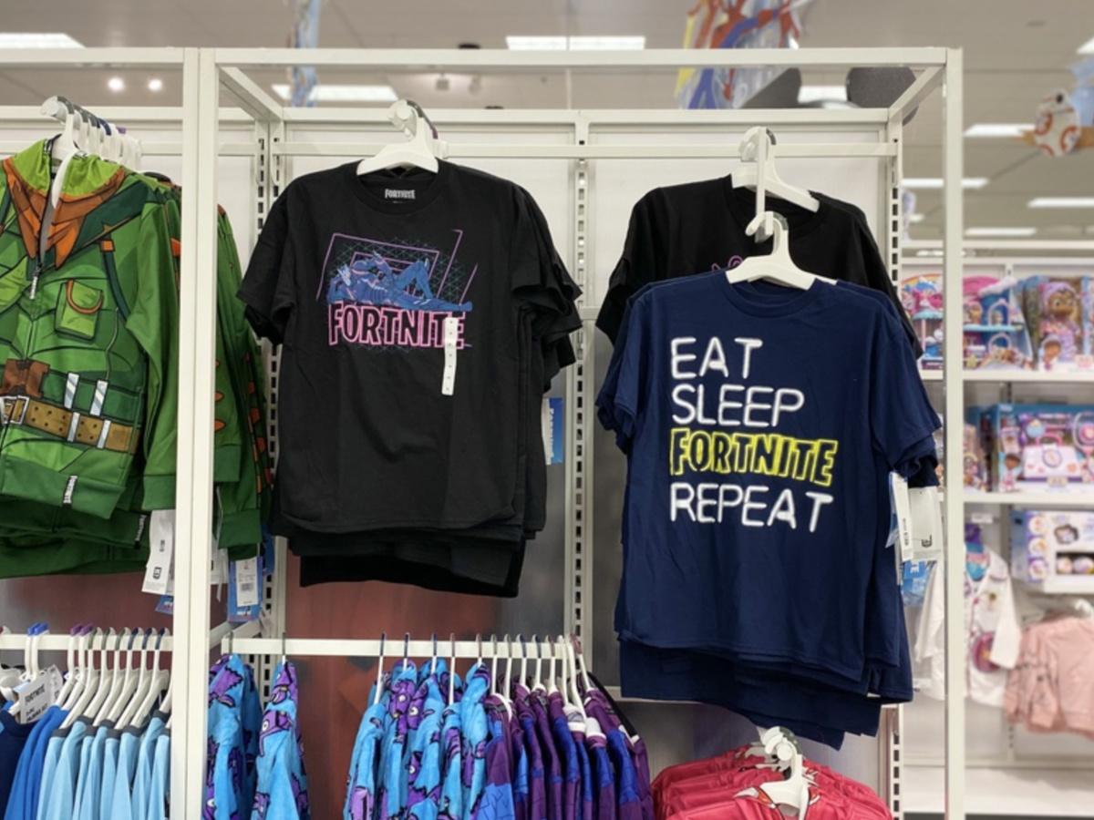 Boy Fortnite t-shirts at Target