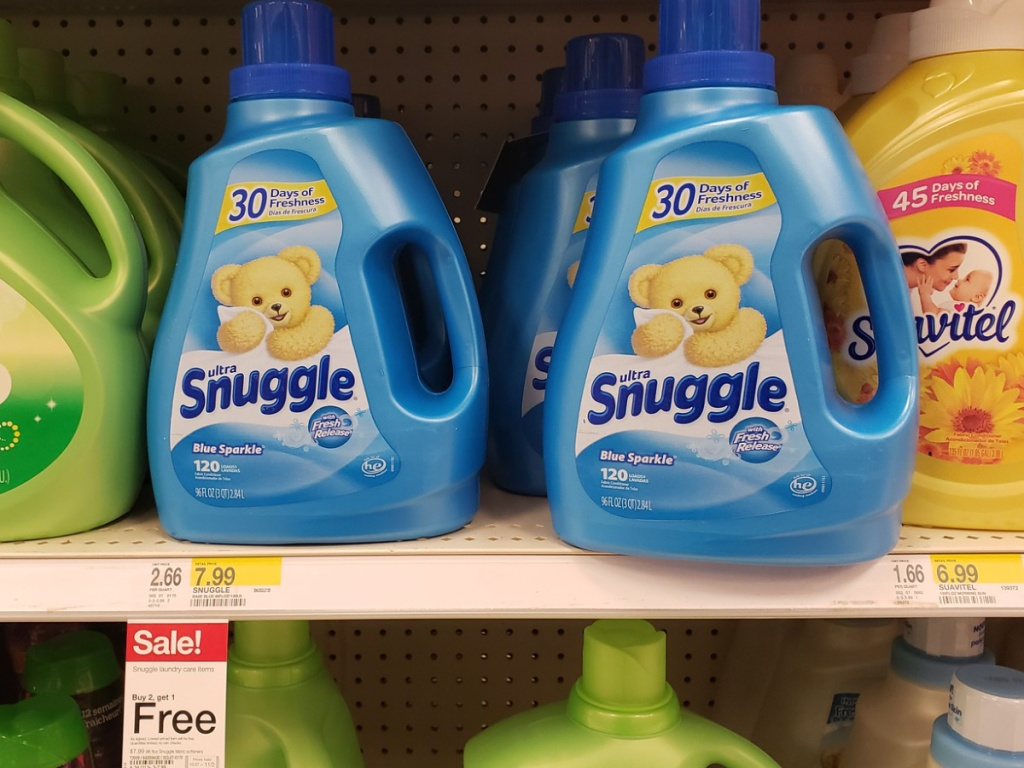 Snuggle Fabric Softener at Target