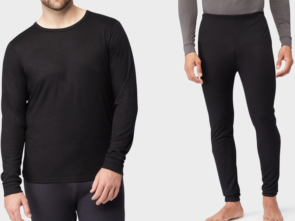 32 Degrees Men's Base Layer Top and Bottoms