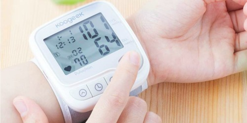 Digital Blood Pressure Monitor Wrist Cuff Only $19.99 Shipped on Amazon