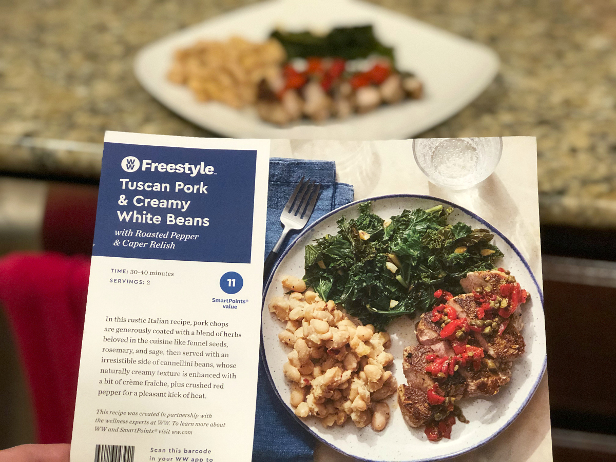 Blue Apron Freestyle pork recipe