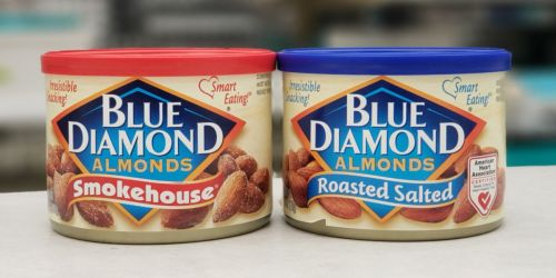 Blue Diamond Almonds Cans as Low as $2 Each at Walgreens | In-Store & Online