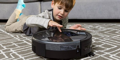 bObsweep PetHair Plus Robotic Vacuum Cleaner & Mop Only $199.99 Shipped (Regularly $400)