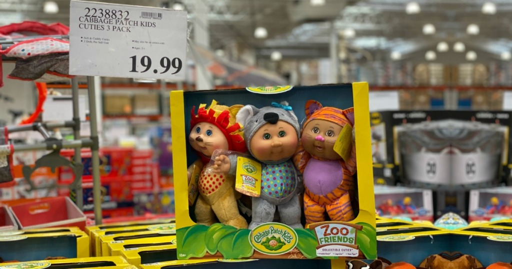Cabbage Patch Kids 3 Pack Cuties Collection Fantasy Friends