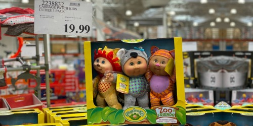 Cabbage Patch Kids 3-Packs Just $19.99 at Costco | Fantasy, Woodland & Zoo Collections