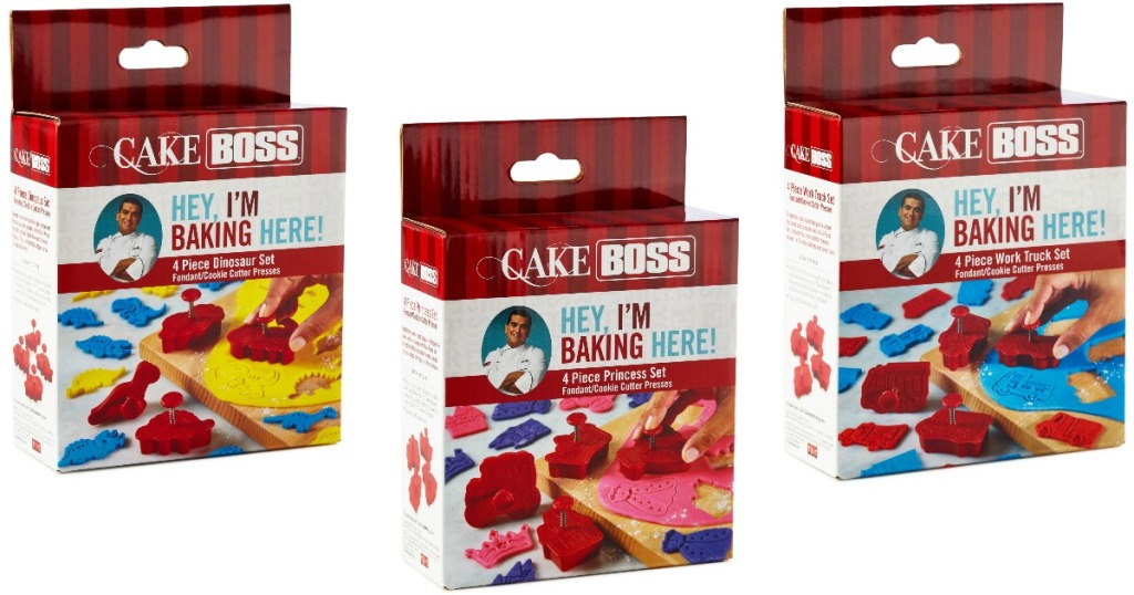 Cake Boss Cookie Cutters