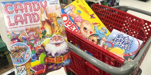 It's Time to Stock the Game Closet | Up to $25 Off Games & Toys Purchase at Target