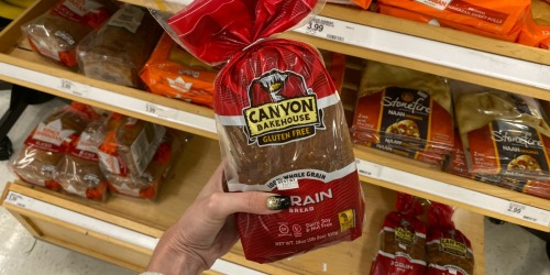 50% Off Canyon Bakehouse Gluten-Free Bread or Brownie Bites at Target