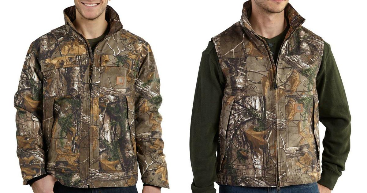 Carhartt Jacket and Vest