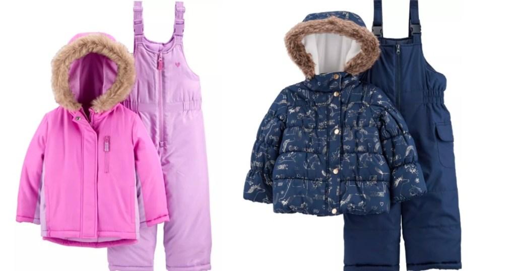 Carter's Snowsuits