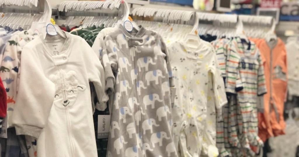 carter's baby pajamas