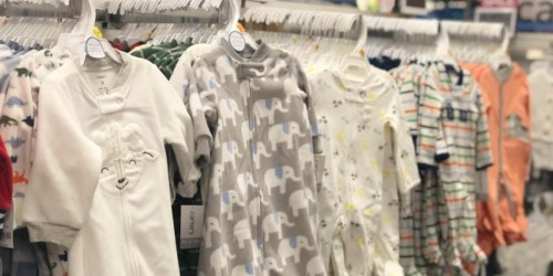 Buy 1, Get 1 FREE Carter's Pajamas & Buy 1, Get 2 FREE OshKosh B'Gosh Denim
