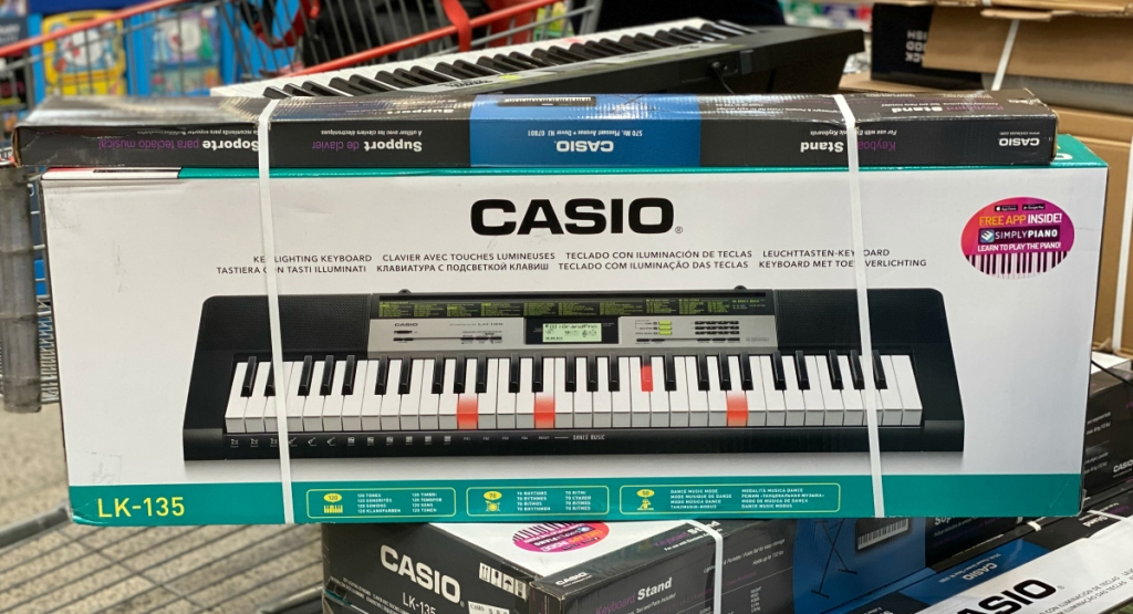 Casio 61-Lighted Key Keyboard at Costco